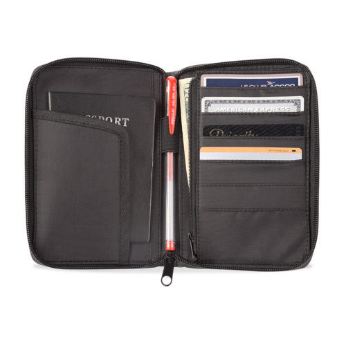 Code10 RFID safe travel wallet inside